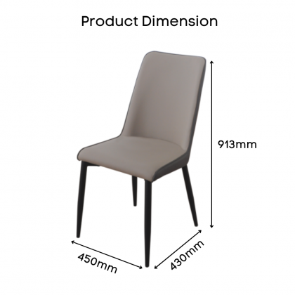 Como Home Dining Chair | Study Chair | Dressing Chair (DC1545)