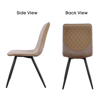 Como Home Dining Chair | Study Chair | Dressing Chair (DC1606)